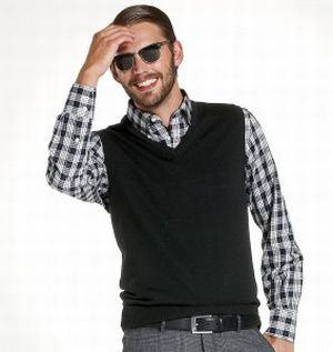 mens sweater vest
