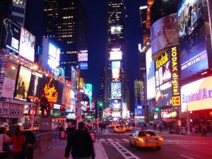 New York nightlife image